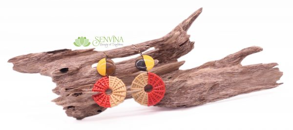 Boho Rattan Horn Earrings (28)