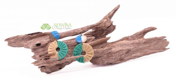 Boho Rattan Horn Earrings (29)