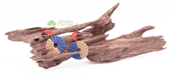 Boho Rattan Horn Earrings (30)