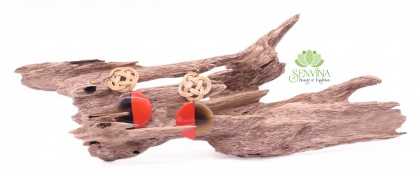 Boho Rattan Horn Earrings (32)