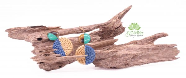 Boho Rattan Horn Earrings (35)