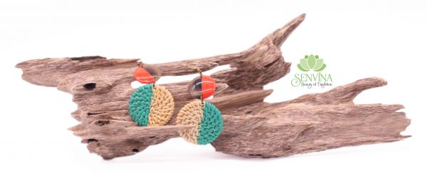 Boho Rattan Horn Earrings (36)