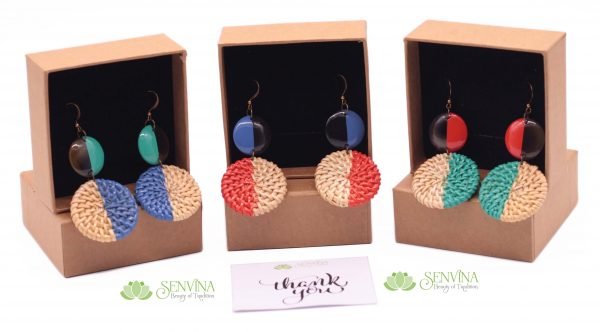 Boho Rattan Horn Earrings (38)