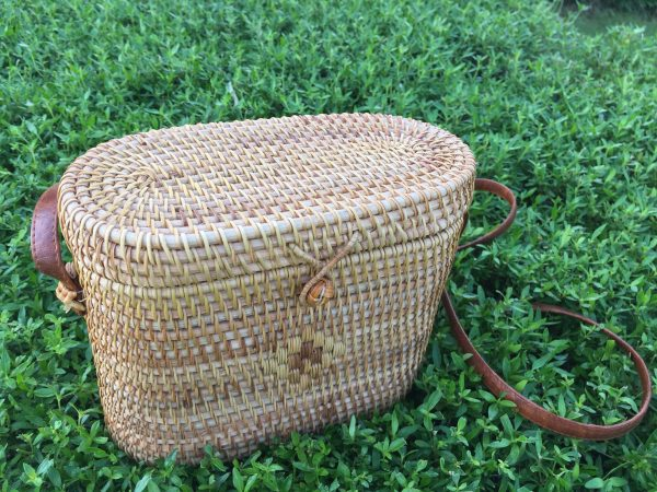 rectangle crossbody rattan bag 4