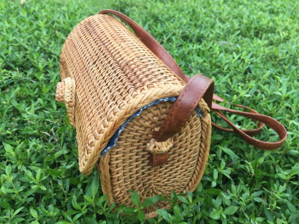 Rectangle rattan purse (4)