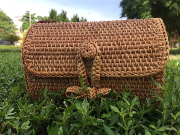 Rectangle rattan purse (5)