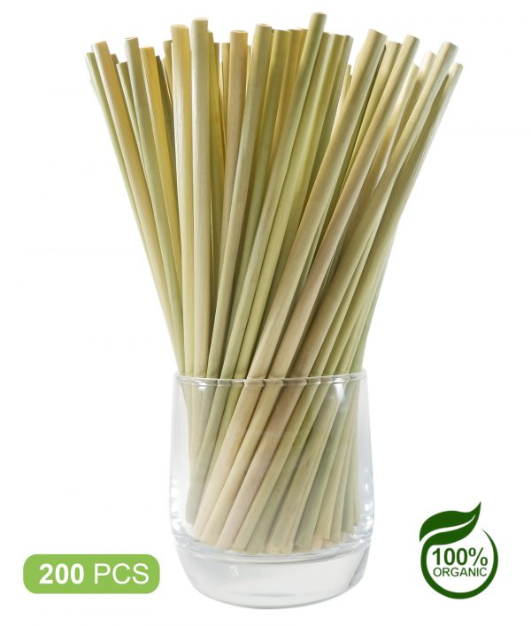 Bamboo Straws Dispostable Drinking – Grass Straws 200pcs (4)